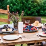 Rustic Brunch Table Setting