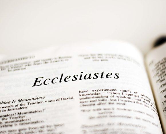 Bible Study – Ecclesiastes
