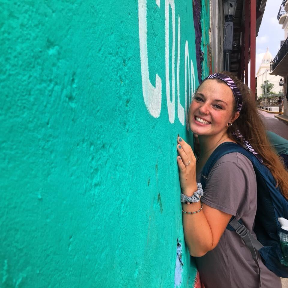 Abigail Merritt in Panama