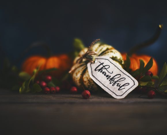 November 2019 – Give Thanks with a Grateful Heart