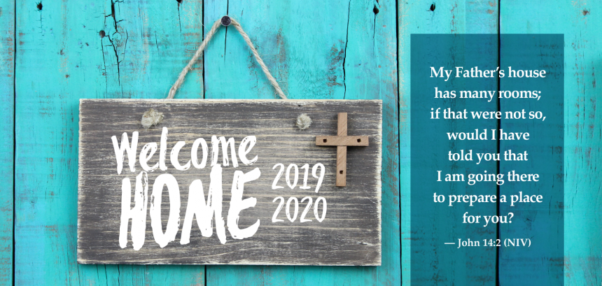 Welcome Home –  Programs Live July 22, 2019